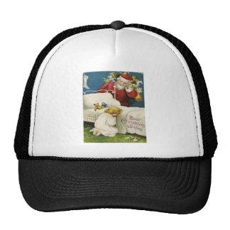 Navidad del vintage gorras