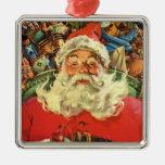 Navidad del vintage, juguetes del trineo del vuelo adorno