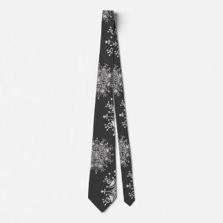 Navidad del vintage, modelo de la ventisca de los corbatas