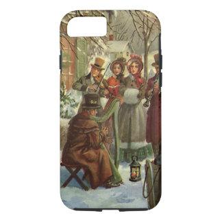 Navidad del vintage, música del juego de los funda iPhone 7