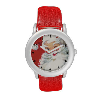 Navidad del vintage, Papá Noel Relojes De Mano