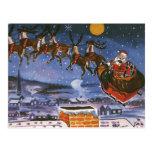 Navidad del vintage, Papá Noel Tarjetas Postales