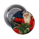Navidad del vintage pin