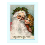 Navidad del vintage postal