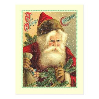 Navidad del vintage postales