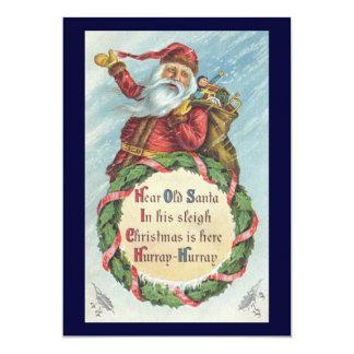 Navidad del vintage, Victorian Papá Noel Comunicado Personal