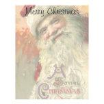 Navidad del vintage, Victorian Papá Noel Membretes Personalizados