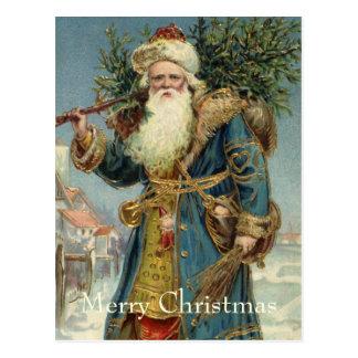 Navidad del vintage Victorian Papá Noel
