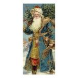 Navidad del vintage, Victorian Papá Noel Tarjetas Publicitarias A Todo Color