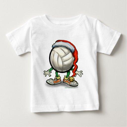 Navidad del voleibol camisetas