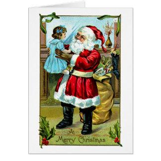 Navidad Delite Tarjeta De Felicitación