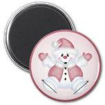 Navidad/día de fiesta del muñeco de nieve 36 del n imanes para frigoríficos