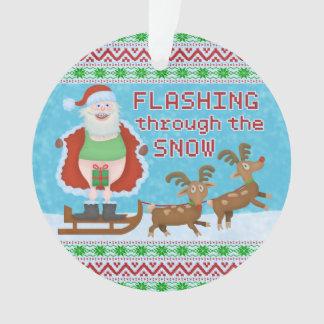 Navidad divertido el | Papá Noel que destella a