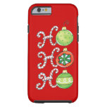 Navidad divertido funda de iPhone 6 tough