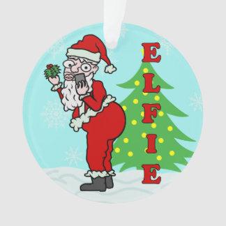 Navidad divertido Santa Elfie
