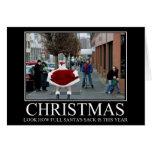 Navidad divertido tarjeta de felicitación