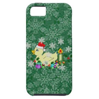 Navidad Duckie iPhone 5 Case-Mate Coberturas