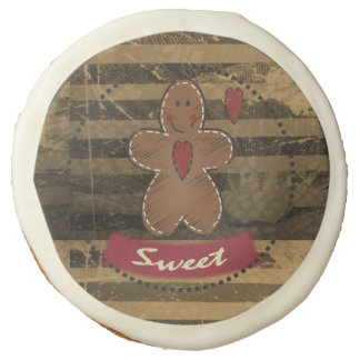 Navidad dulce del hombre de pan de jengibre el  