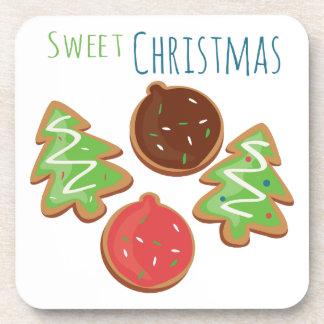 Navidad dulce posavaso