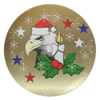 Navidad Eagle Platos Para Fiestas