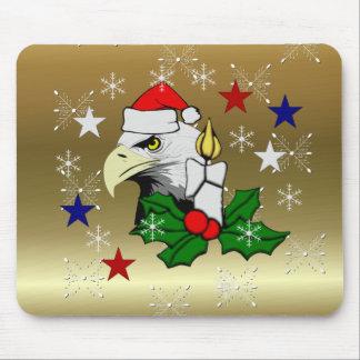 Navidad Eagle Alfombrilla De Raton