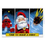 Navidad. El deseo de Santa Tarjeta