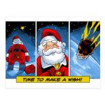 Navidad. El deseo de Santa Tarjeta Postal