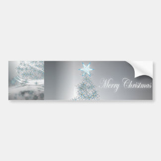 Navidad elegante de la estrella festiva pegatina para auto
