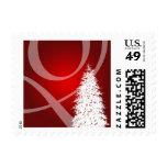 Navidad elegante del árbol franqueo USPS de 2014