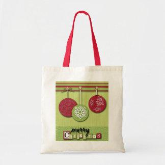 Navidad elegante del país bolsas de mano