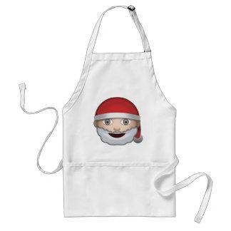 Navidad Emoji del padre Delantal