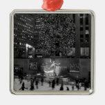 Navidad en el centro de Rockefeller y los Ornamento Para Reyes Magos