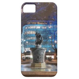 Navidad en el cuadrado de Sloane iPhone 5 Case-Mate Carcasa