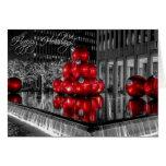 Navidad en el día de fiesta de New York City Tarjeta De Felicitación