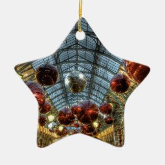 Navidad en el jardín de Covent, Londres Adorno De Reyes