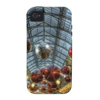 Navidad en el jardín de Covent, Londres iPhone 4/4S Funda