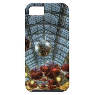 Navidad en el jardín de Covent, Londres iPhone 5 Case-Mate Carcasa
