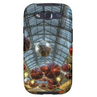 Navidad en el jardín de Covent, Londres Samsung Galaxy S3 Fundas