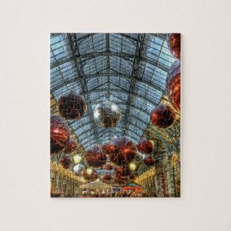 Navidad en el jardín de Covent, Londres Rompecabezas