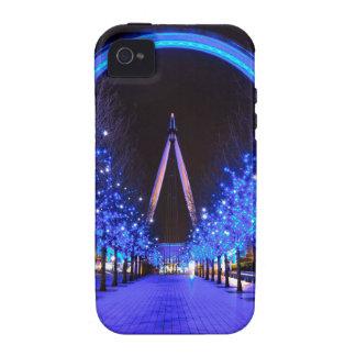 Navidad en el ojo de Londres Vibe iPhone 4 Carcasa