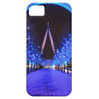 Navidad en el ojo de Londres iPhone 5 Cárcasas