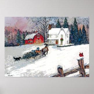 Navidad en el país póster