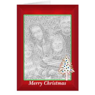 Navidad en el rojo (marco alto de la foto) felicitaciones