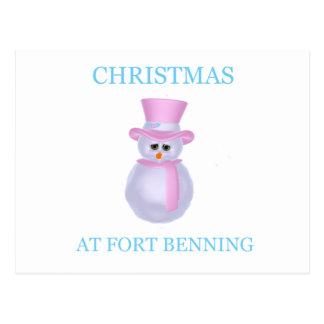 Navidad en Fort Benning 1 Tarjeta Postal