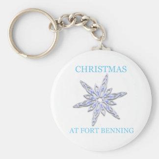 Navidad en Fort Benning 2 Llavero