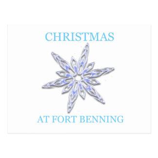Navidad en Fort Benning 2 Tarjetas Postales