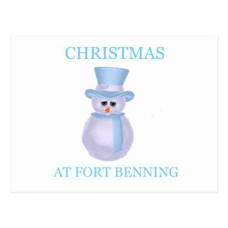 Navidad en Fort Benning 3 Tarjeta Postal