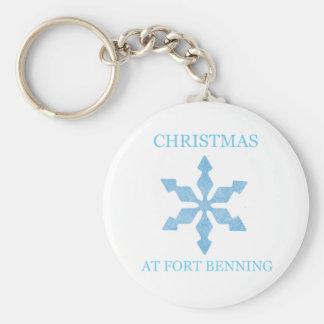 Navidad en Fort Benning 4 Llavero