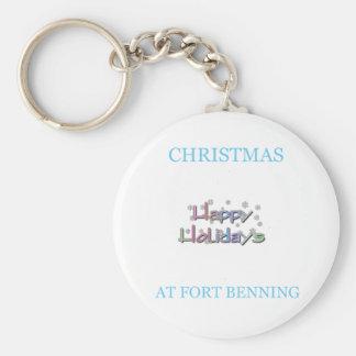 Navidad en Fort Benning 6 Llavero