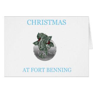 Navidad en Fort Benning 7 Tarjetas